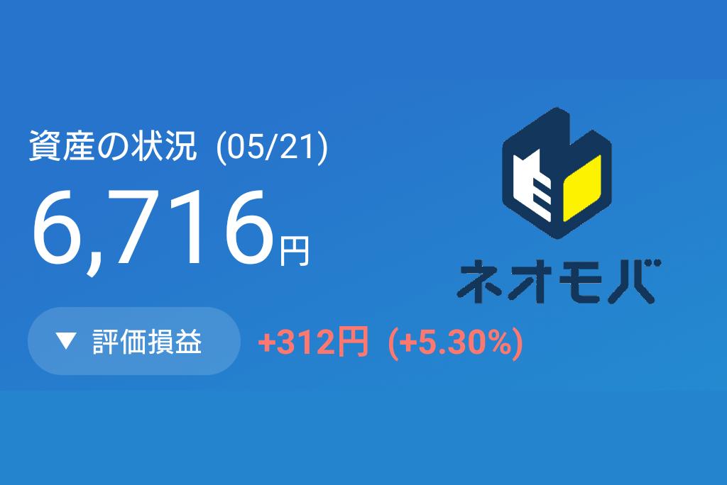 【ネオモバ運用実績】S&P500連動ETF(2521)を半年間買い続けた結果アイキャッチ
